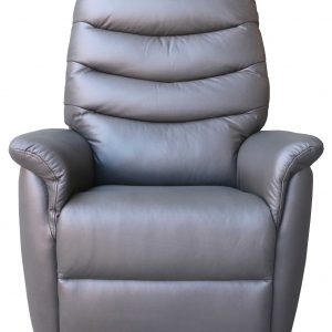 Leather lift recliner chair