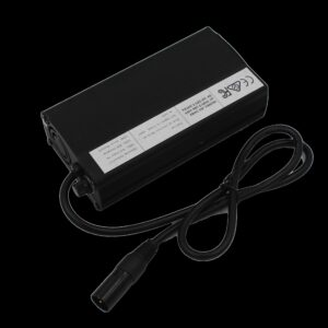 24v 8amp Wheelchair/Mobility Scooter Battery Charger w XLR3 Plug - AGM (Deep Cycle)